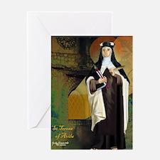 St Teresa of Avila Greeting Card