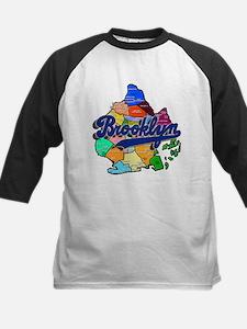 Brooklyn Boro Map Kids Baseball Jersey