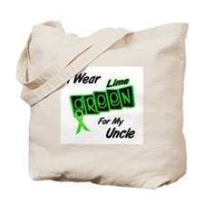 I Wear Lime Green For My Uncle 8 Tote Bag
