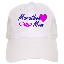 Marathon Mom Hats Baseball Cap