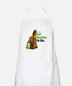 NH Eat Healthy Or Die BBQ Apron