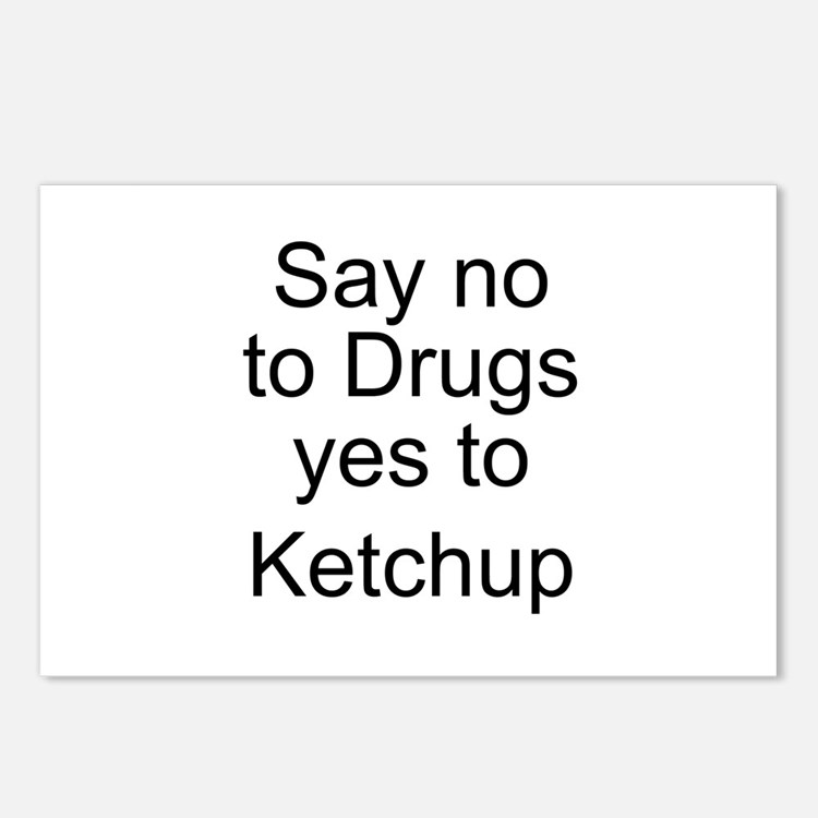 Yes to Ketchup - Go Ketchup Postcards (Package of