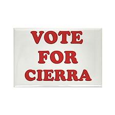 Vote for CIERRA Rectangle Magnet