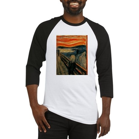 The Scream Baseball Jersey