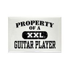 Property of a Guitar Player Rectangle Magnet