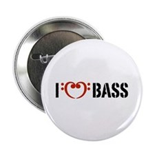 "I Love Bass 2.25"" Button"