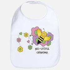Bee-utiful Grandma Bib