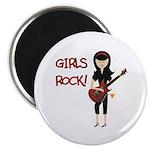 Girls Rock Magnet