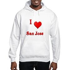 I Love San Jose #21 Hoodie