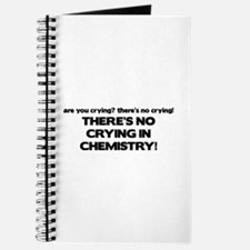 There's No Crying in Chemisty Journal