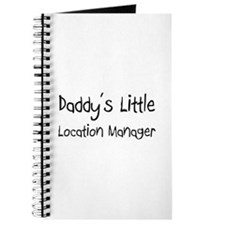 Daddy's Little Location Manager Journal
