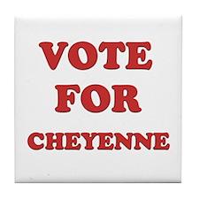 Vote for CHEYENNE Tile Coaster