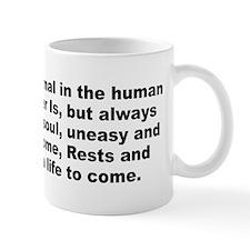 Pope quotation Mug