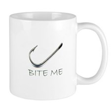 Bite Me Fishing Mug