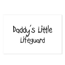 Daddy's Little Lifeguard Postcards (Package of 8)