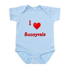 I Love Sunnyvale #21 Infant Bodysuit