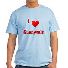 I Love Sunnyvale #21 T-Shirt