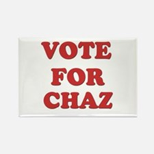Vote for CHAZ Rectangle Magnet