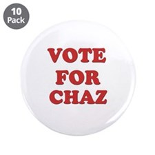 "Vote for CHAZ 3.5"" Button (10 pack)"