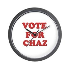 Vote for CHAZ Wall Clock