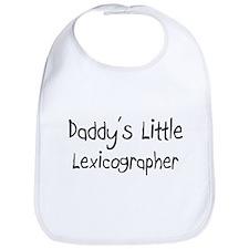 Daddy's Little Lexicographer Bib