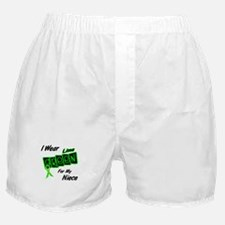 I Wear Lime Green For My Niece 8 Boxer Shorts