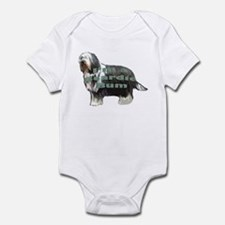 beardie bum Infant Bodysuit