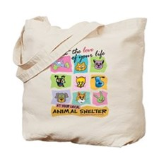 Meet The Love Of Your Life Tote Bag