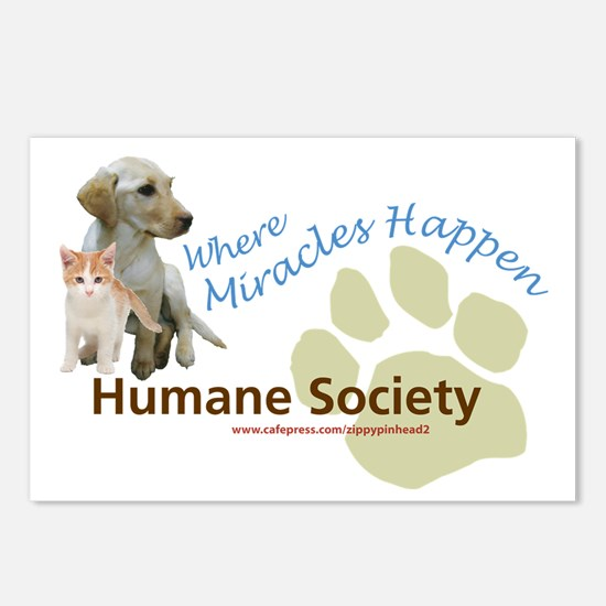 Humane Society Postcards (Package of 8)