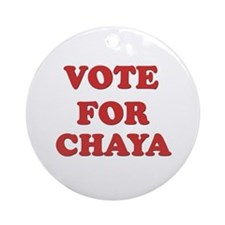 Vote for CHAYA Ornament (Round)