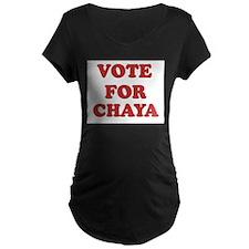 Vote for CHAYA T-Shirt