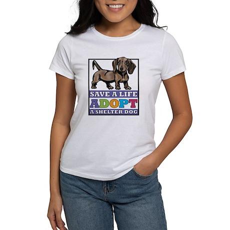 Dachshund Rescue Women's T-Shirt