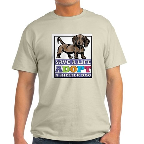 Dachshund Rescue Light T-Shirt