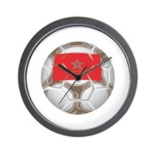 Morocco Championship Soccer Wall Clock