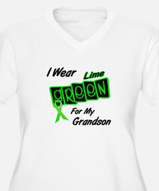 I Wear Lime Green For My Grandson 8 T-Shirt