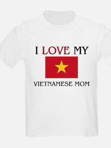 Cute Vietnam women T-Shirt