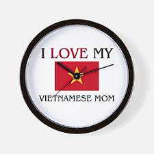 Cute Vietnam music Wall Clock