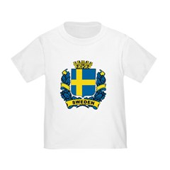 Stylish Sweden Crest T