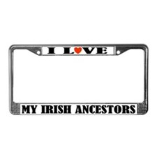 Irish Ancestors License Plate Frame