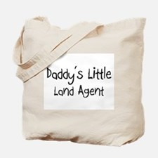 Daddy's Little Land Agent Tote Bag