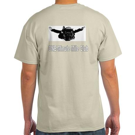 Military Freefall Skydiver Grey T-Shirt