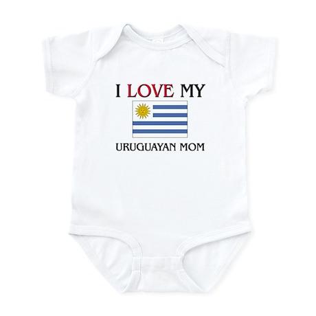 I Love My Uruguayan Mom Infant Bodysuit