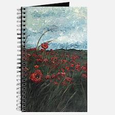 Stormy Poppies Journal