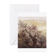 Asian Mist Greeting Card