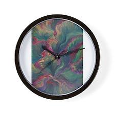 Vibrant Leaves Wall Clock
