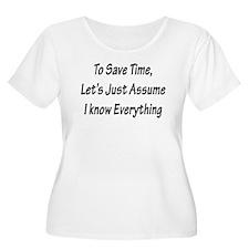 Save Time T-Shirt