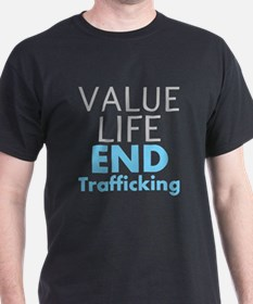 Value LIfe - End Trafficking T-Shirt