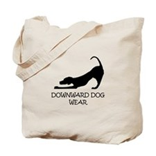 "Downward Dog Wear's ""Logo"" Tote Bag"