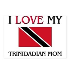 I Love My Trinidadian Mom Postcards (Package of 8)