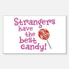 Strangers Candy - Rectangle Decal